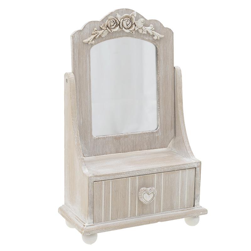 Μπιζουτιέρα Με Καθρέπτη 21.5x10.5x34 3-70-147-0017
