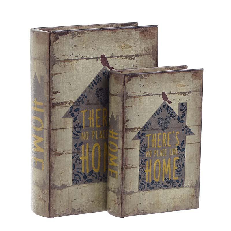 Κουτί/Βιβλίο Σετ Των 2τμχ 3-70-106-0001