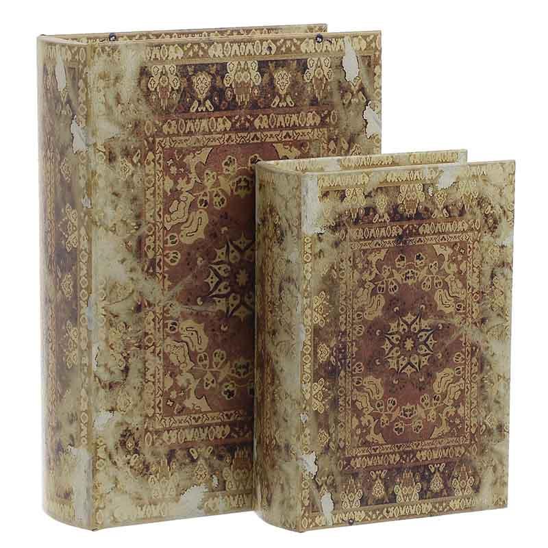 Κουτί/Βιβλίο Σετ Των 2τμχ 3-70-106-0005