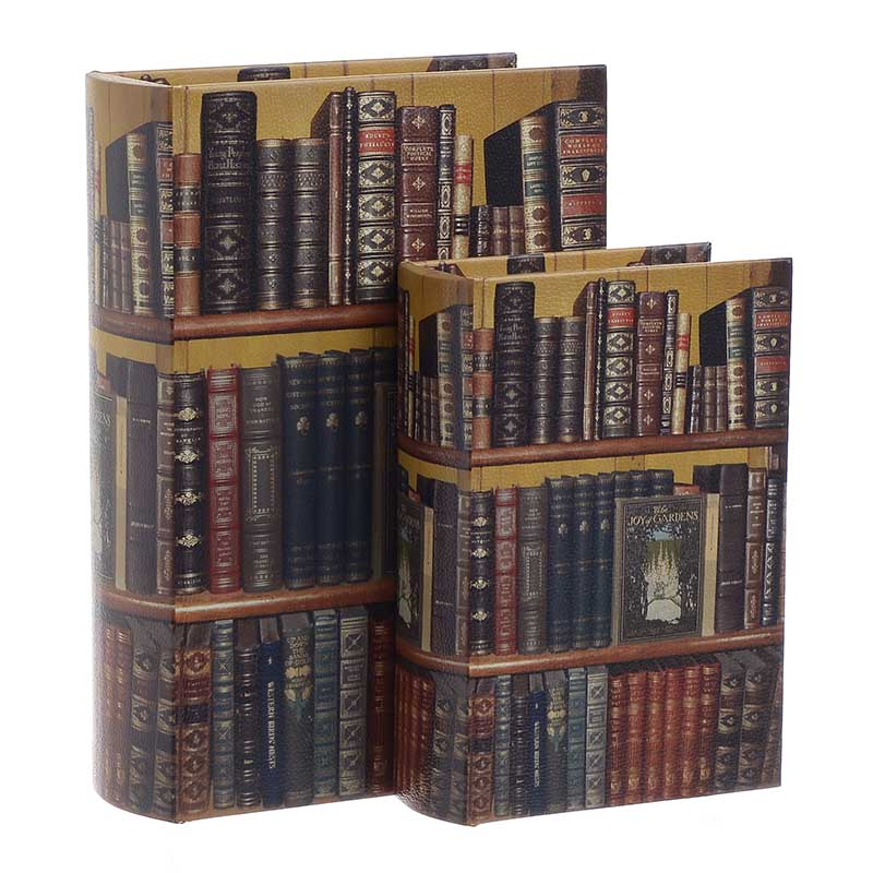 Κουτί/Βιβλίο Σετ Των 2τμχ 3-70-106-0006