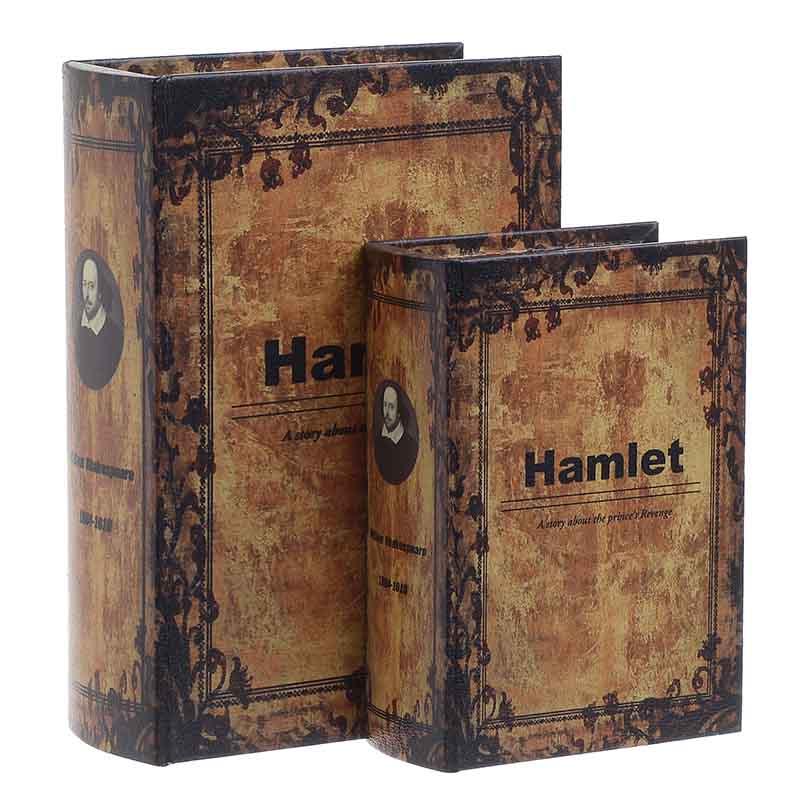 Κουτί/Βιβλίο Σετ Των 2τμχ 3-70-106-0011