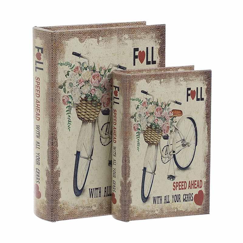 Κουτί/Βιβλίο Σετ Των 2τμχ 3-70-106-0016