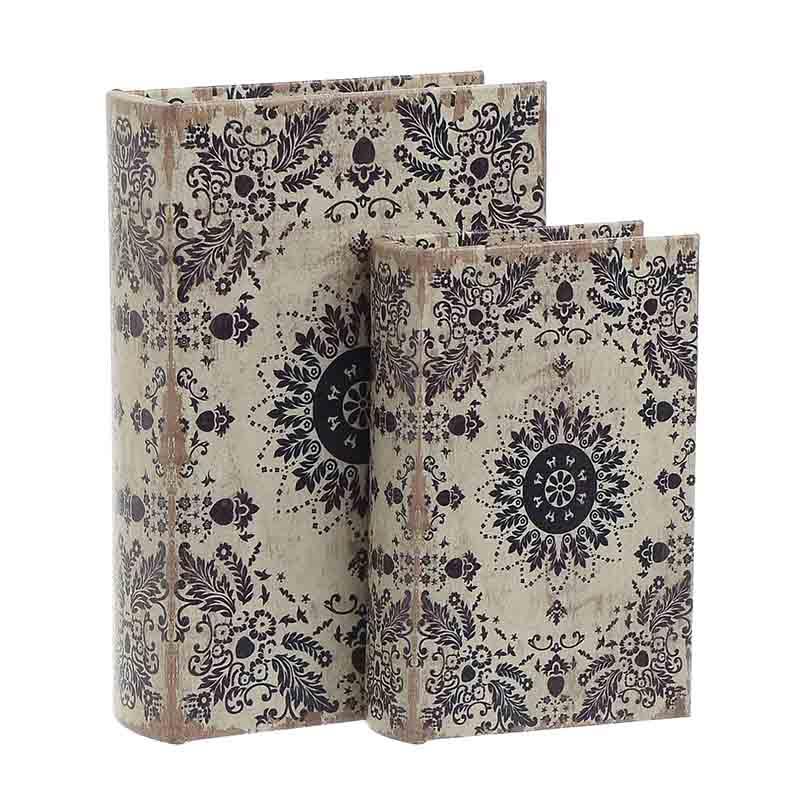 Κουτί/Βιβλίο Σετ Των 2τμχ 3-70-106-0018