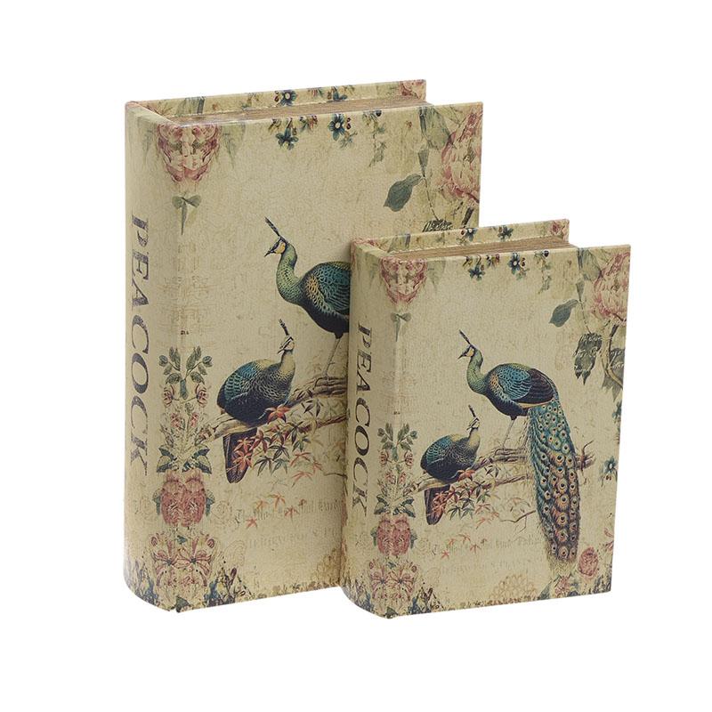 Κουτί/Βιβλίο Σετ Των 2τμχ 3-70-106-0019