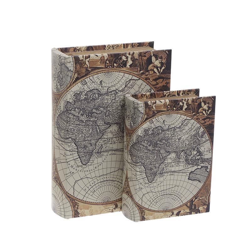 Κουτί/Βιβλίο Σετ Των 2τμχ 3-70-106-0020