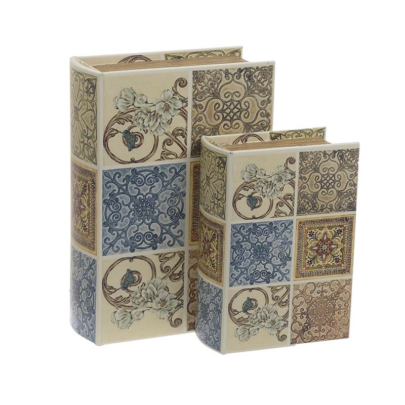 Κουτί/Βιβλίο Σετ Των 2τμχ 3-70-106-0021