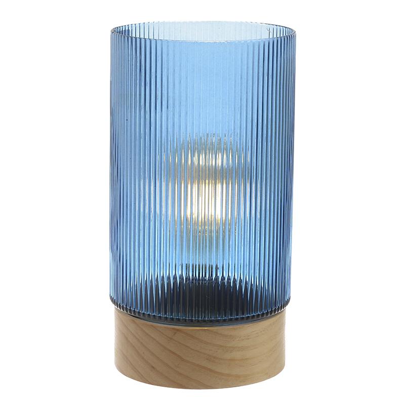 Επιτραπέζιο Φωτιστικό Με Μπαταρίες 14.5x14.5x28 3-15-104-0051