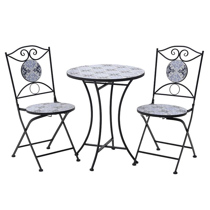 Σετ Τραπέζι Με 2 Καρέκλες 3-50-238-0001