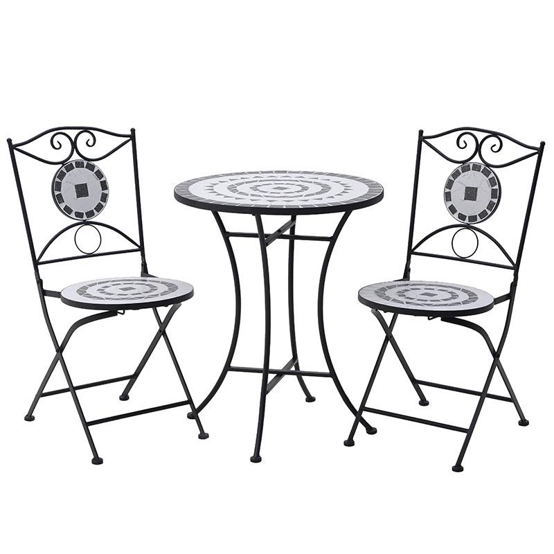 Σετ Τραπέζι Με 2 Καρέκλες 3-50-238-0003