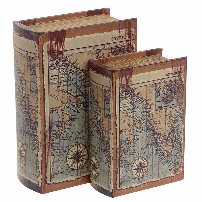 Κουτί/Βιβλίο Σετ Των 2τμχ 3-70-106-0025