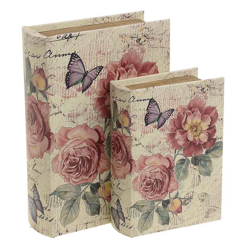 Κουτί/Βιβλίο Σετ Των 2τμχ 3-70-106-0027