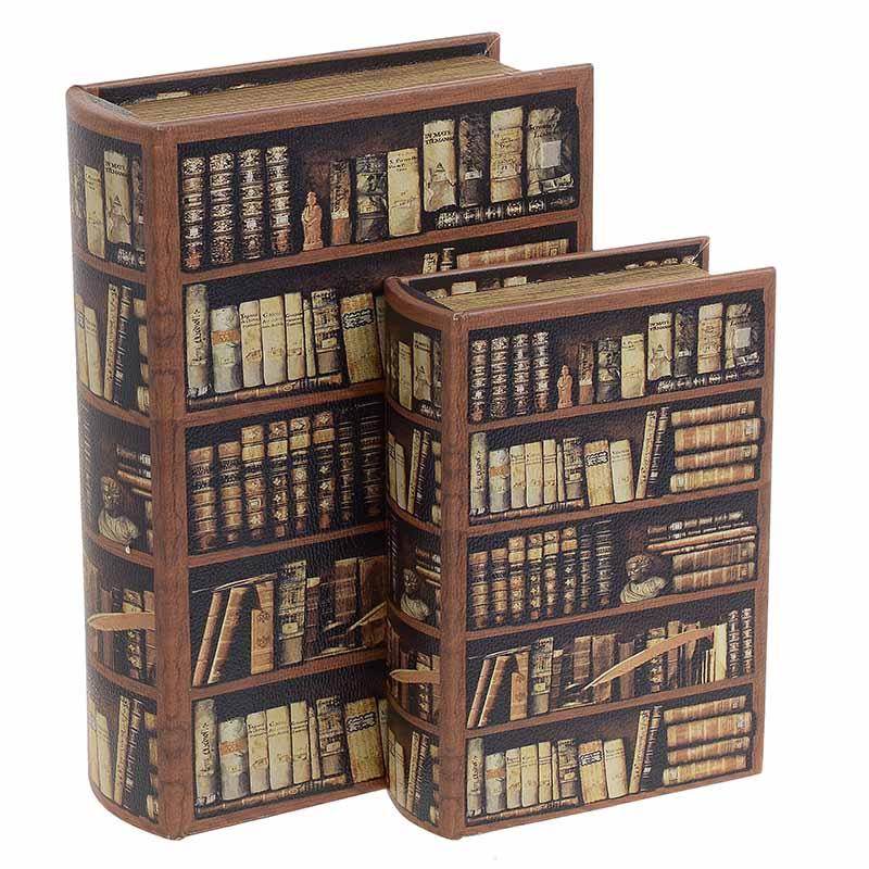 Κουτί/Βιβλίο Σετ Των 2τμχ 3-70-106-0028