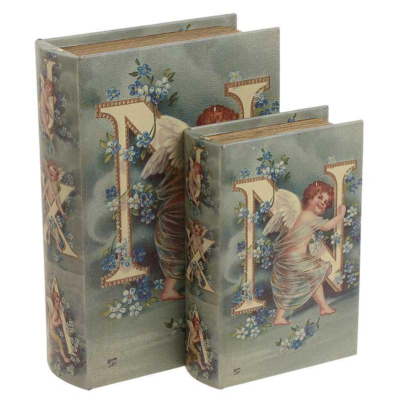 Κουτί/Βιβλίο Σετ Των 2τμχ 3-70-106-0029