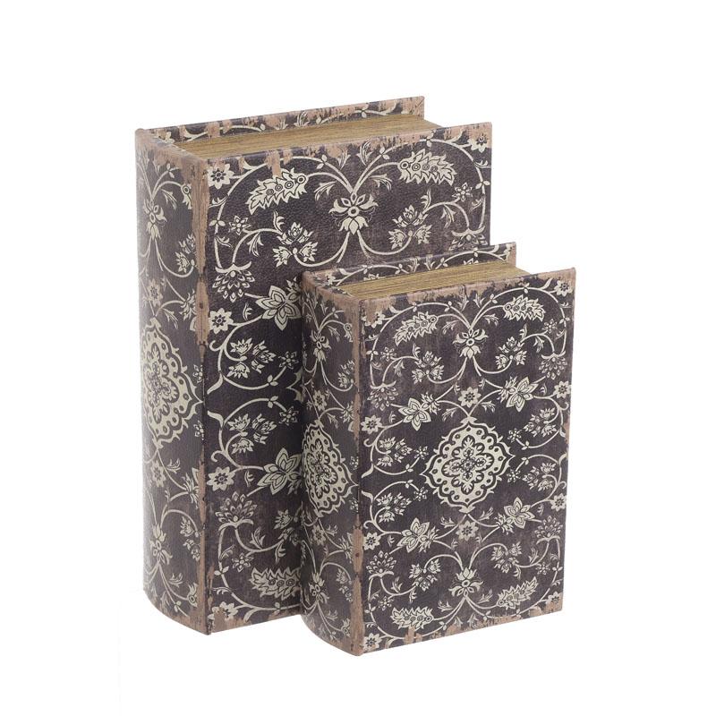 Κουτί/Βιβλίο Σετ Των 2τμχ 3-70-106-0035