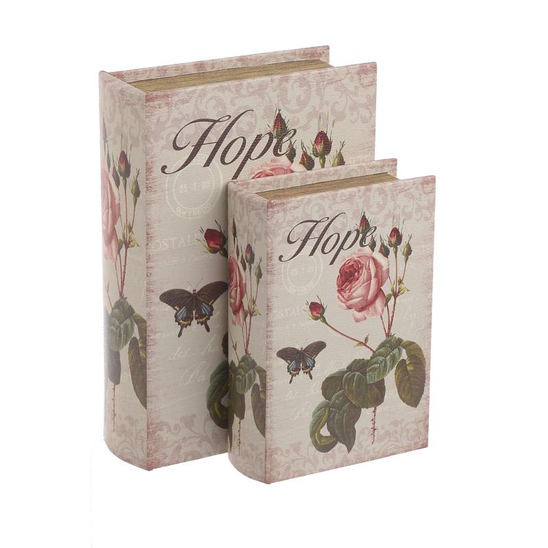 Κουτί/Βιβλίο Σετ Των 2τμχ 3-70-106-0038