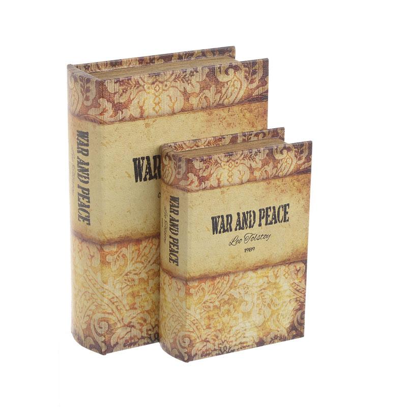Κουτί/Βιβλίο Σετ Των 2 3-70-106-0040