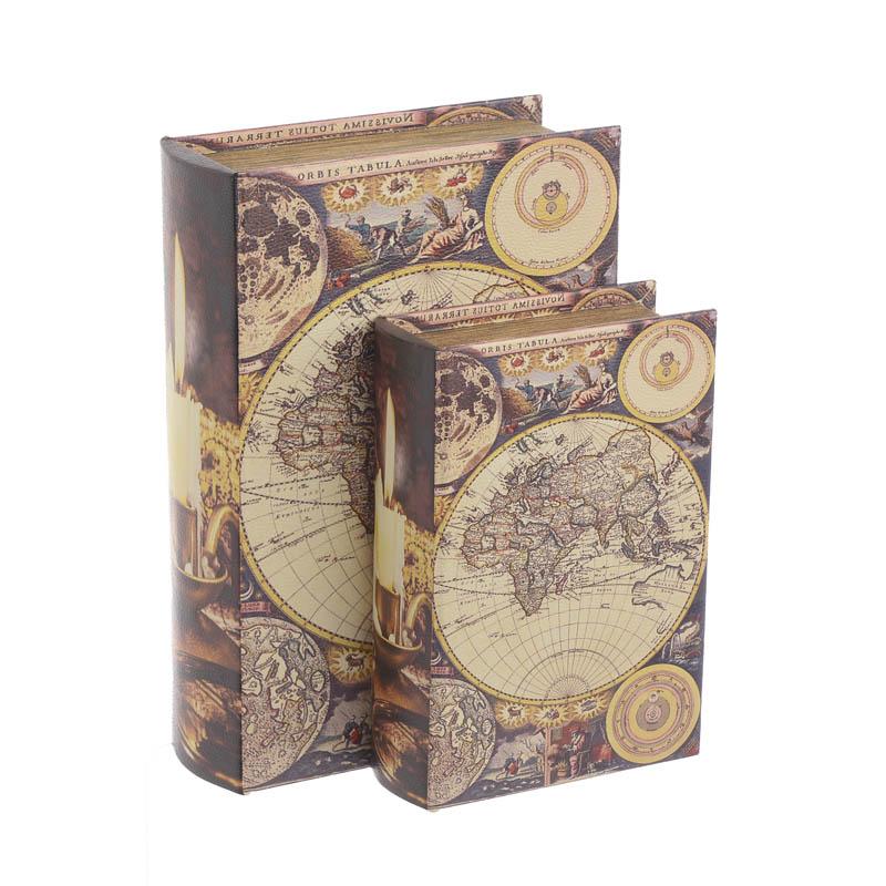 Κουτί/Βιβλίο Σετ Των 2 3-70-106-0041